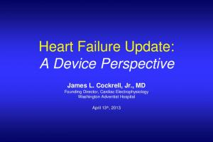 Heart Failure Update: A Device Perspective