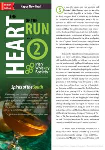 HEART RUN. Spirits of the South THE OF THE. Happy New Year! Winter Edition VOL. #