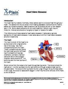 Heart Valve Diseases