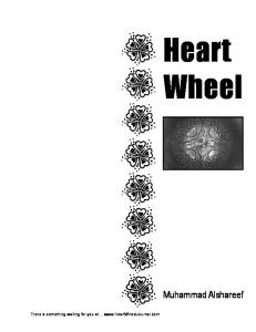 Heart Wheel. Muhammad Alshareef. There is something waiting for you at