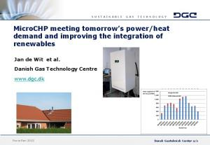 heat demand and improving the integration of renewables