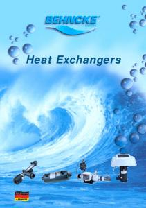 Heat Exchangers Made in Germany