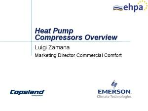 Heat Pump Compressors Overview