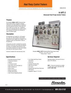 Heat Pump Control Trainers