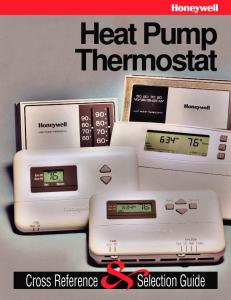 Heat Pump Thermostat &