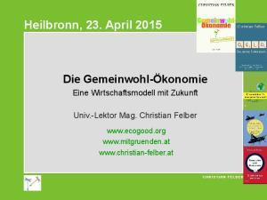 Heilbronn, 23. April 2015