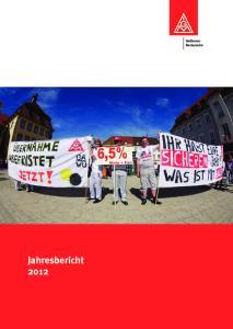 Heilbronn- Neckarsulm Jahresbericht 2012
