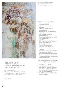 Heiligen- und Reliquienverehrung im Mittelalter. Teil I: Reliquienverehrung im Mittelalter