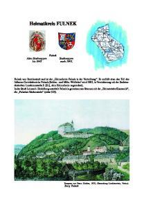 Heimatkreis FULNEK. Fulnek Altes Stadtwappen Stadtwappen bis 1945 nach 1945,