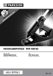 HEISSKLEBEPISTOLE PHP 500 B2