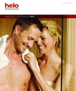 helo-sauna.de PRODUCT CATALOGUE 2011