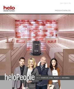 helo-sauna.de PRODUKTKATALOG MEET MARCUS, LISA, PEKKA & JOHANNA