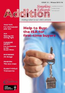 Help to Buy: the ISA for first-time buyers