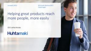 Helping great products reach more people, more easily