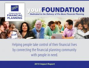 Helping people take control of their financial lives by connecting the financial planning community with people in need