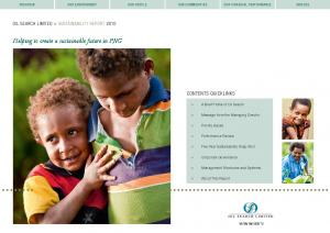 Helping to create a sustainable future in PNG