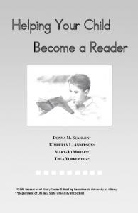 Helping Your Child Become a Reader