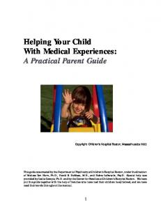 Helping Your Child With Medical Experiences: A Practical Parent Guide