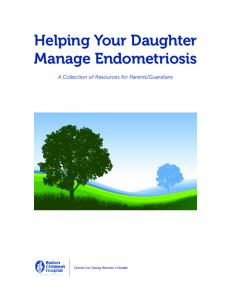 Helping Your Daughter Manage Endometriosis