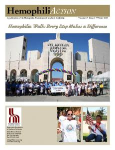 Hemophilia Walk: Every Step Makes a Difference