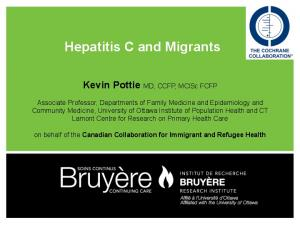 Hepatitis C and Migrants