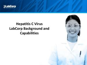Hepatitis C Virus LabCorp Background and Capabilities