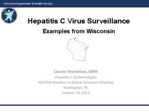 Hepatitis C Virus Surveillance