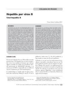 Hepatitis por virus B