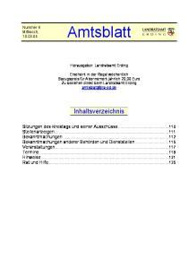Herausgeber: Landratsamt Erding