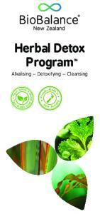 Herbal Detox. Program