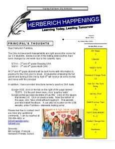 HERBERICH HAPPENINGS