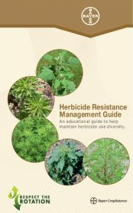 Herbicide Resistance Management Guide An educational guide to help maintain herbicide use diversity