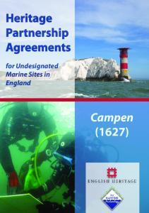 Heritage Partnership Agreements
