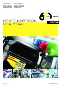 HERMETIC COMPRESSORS FOR AC VOLTAGE