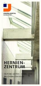 HERNIEN- ZENTRUM HILFE BEI LEISTEN-, NABEL- UND BAUCHWANDHERNIEN