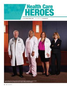 heroes Health Care by Cathy Breitenbucher Photography by Dan Bishop