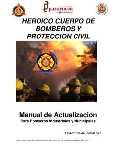 HEROICO CUERPO DE BOMBEROS Y PROTECCION CIVIL