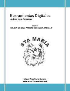 Herramientas Digitales Lic. Cruz Jorge Fernandez