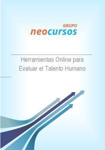 Herramientas Online para Evaluar el Talento Humano