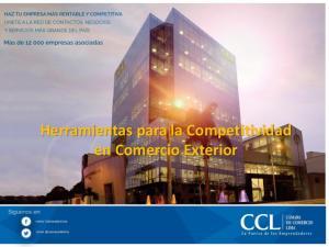 Herramientas para la Competitividad en Comercio Exterior