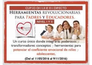 Herramientas revolucionarias para Padres y Educadores. NIVEL I Y II