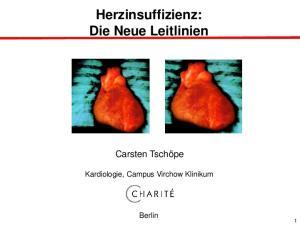 Herzinsuffizienz: Die Neue Leitlinien