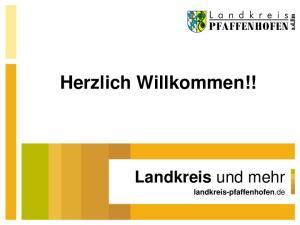 Herzlich Willkommen!! Landkreis und mehr landkreis-pfaffenhofen.de