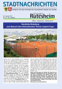 Herzliche Einladung zum Besuch des Internationalen Tennis-Jugend-Cups