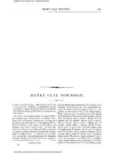 HESRY CLAY TOJTSSF-IIP