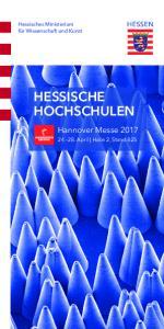 HESSISCHE HOCHSCHULEN