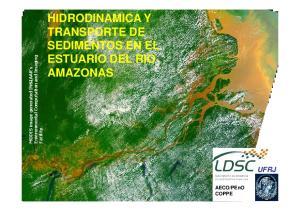 HIDRODINAMICA Y TRANSPORTE DE SEDIMENTOS EN EL ESTUARIO DEL RIO AMAZONAS