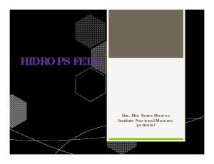 HIDROPS FETAL. Dra. Elsa Torres Marcos Instituto Nacional Materno perinatal