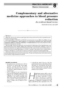 High blood pressure (BP) is one of