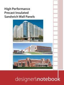 High Performance Precast Insulated Sandwich Wall Panels